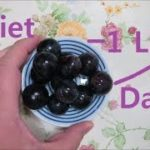 One Pound Weight Loss Everyday! Grape, Palm Bowl Diet ダイエット1日半キロ痩 葡萄 포도, 손사발 다이어트