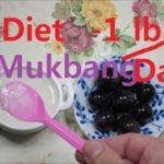 Palm Bowl Diet, Lose weight 1 pound Everyday! Rice Soup, Grapeダイエット 1日半キロ痩   米粥,다이어트, 쌀죽 Mukbang