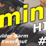 【Diet / ダイエット】4 min HIIT workout focusing on shoulder & arm.