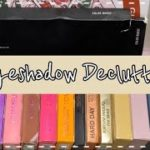 【断捨離コスメ ✰ no.8 アイシャドウ編 makeup declutter ✰ no.8 eyeshadow palette ver.
