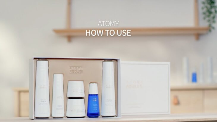 『HOW TO USE』エイソルート セレクティブ スキンケア セット