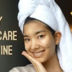 Travel Skin Care Routine   旅先でのスキンケア 【字幕】